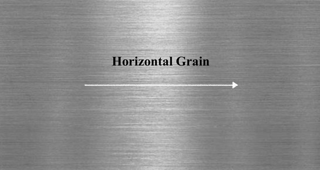 Image result for grain on stainless steel