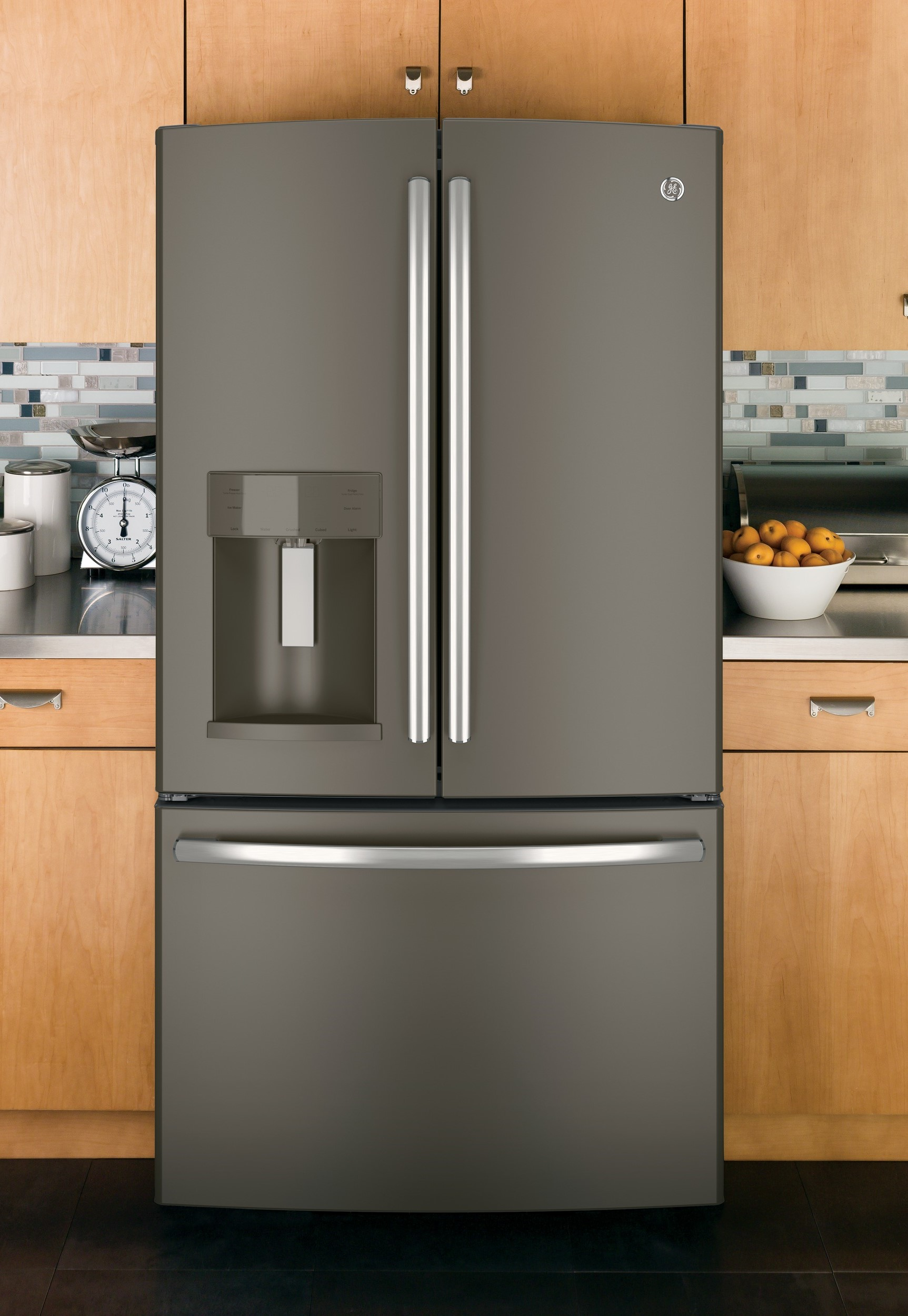 Grey Colored Kitchen Appliances