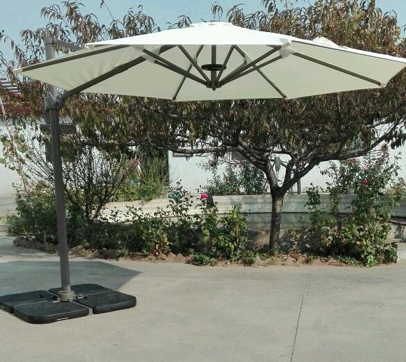 Sombrillas para mesa de restaurante master chef for Sombrillas terraza
