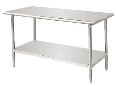 Mesas de trabajo en stainless steel master chef - Mesas de trabajo para cocina ...